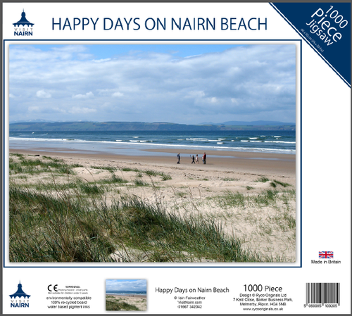 Nairn Jigsaw - Happy Days