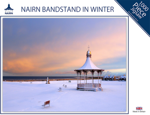 Nairn Jigsaw - Bandstand in Winter