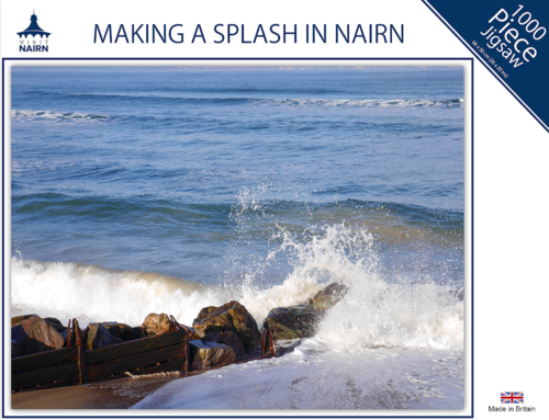 Nairn Jigsaw - Making a Splash