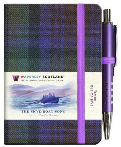 The Skye Boat Song Tartan Notebook (mini with pen)