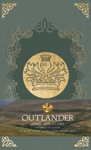 Outlander: Notebook Collection : Jamie and Claire Set of 2