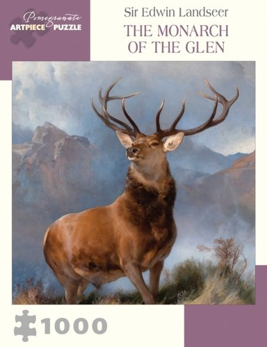 Sir Edwin Landseer : The Monarch of the Glen 1000-Piece Jigsaw Puzzle