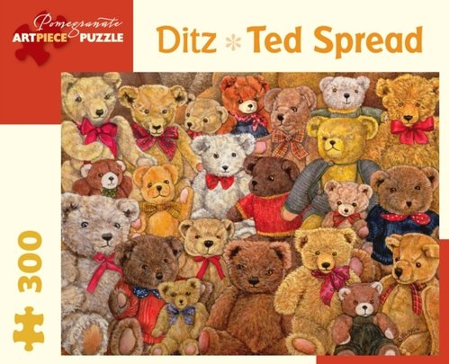 Ditz Ted Spread 300-Piece Jigsaw Puzzle